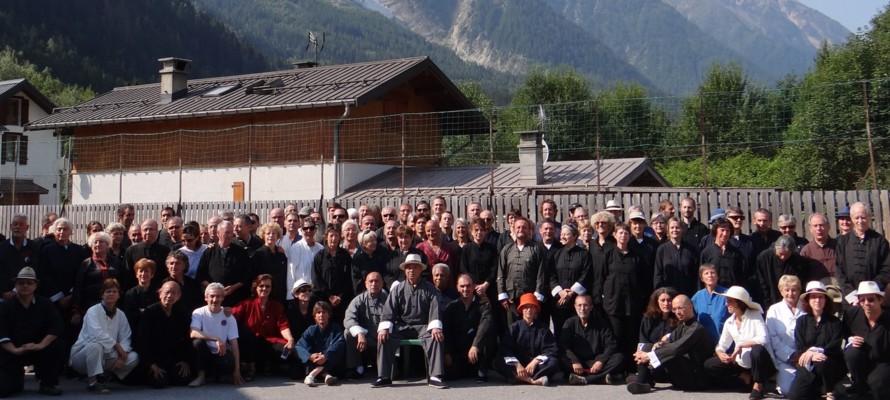 Stage de Maître Chu à Chamonix